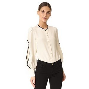Julianna Bass Bernadette Blouse